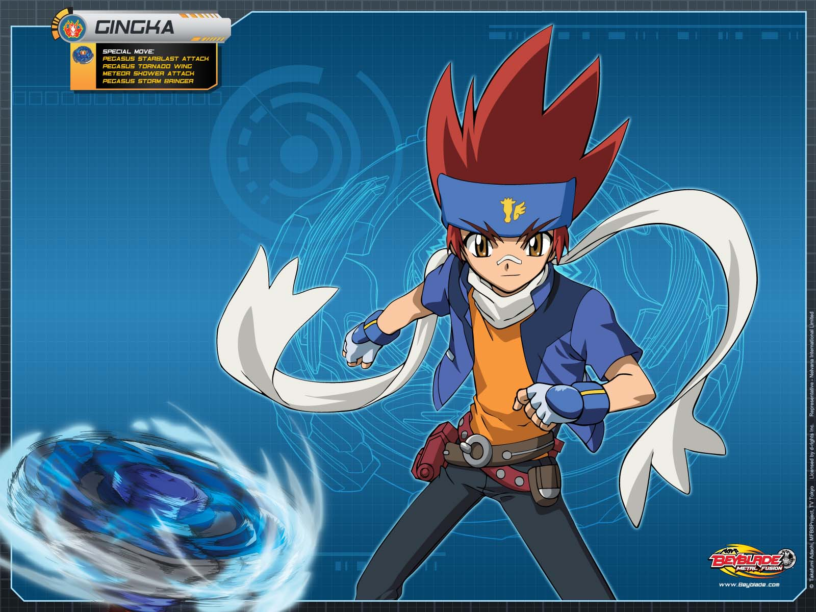BEYBLADE METAL FUSION ANIME & VIDEOGAME WALLPAPERS