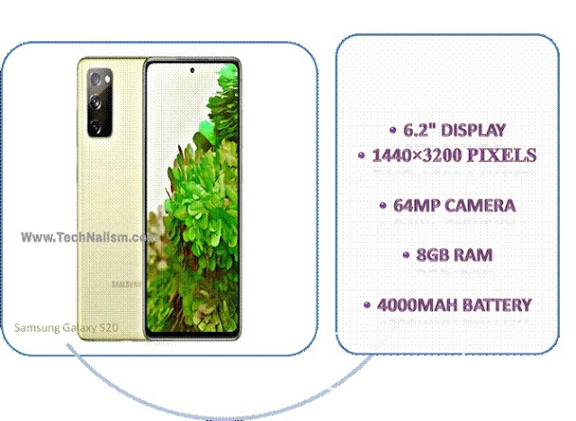 Samsung Galaxy S20 Phone Specification