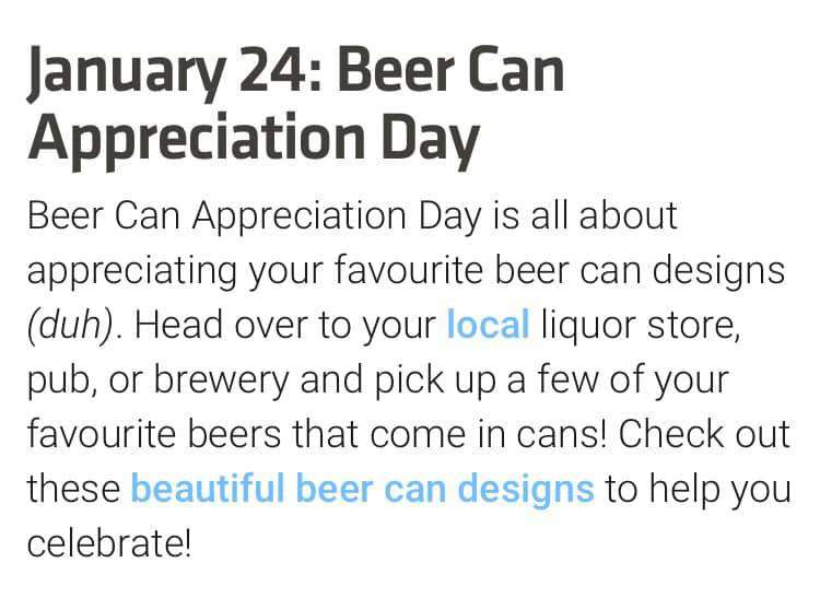 National Beer Can Appreciation Day Wishes Images