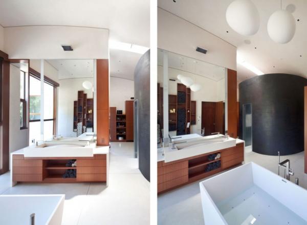 ห้องน้ำ Modern Style เปิดโล่ง และใช้พื้นที่ได้อย่างคุ้มค่า