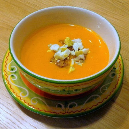 ... - Chilled Spanish Tomato Soup - Away A While Recipe Favorites