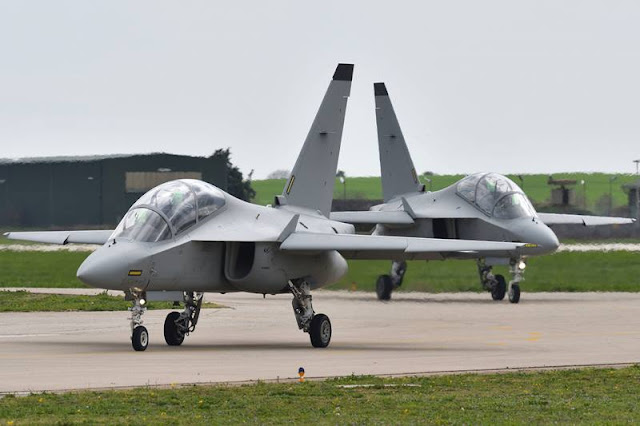 Portugal lease M346 pilot training