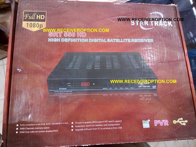 STAR TRACK SRT 550 HD RECEIVER DUMP FILE