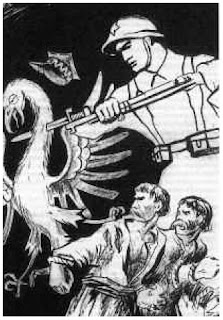 Sowiecki plakat propagandowy