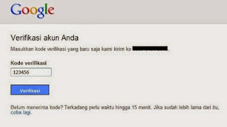 Cara Verifikasi Google Bisnisku Via SMS