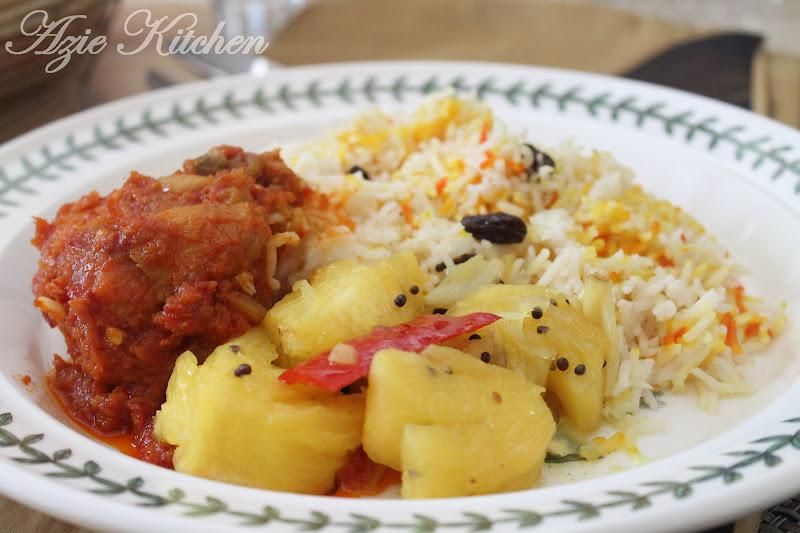 Nasi Minyak Pada Cuti Hari Pertabalan Agong Azie Kitchen