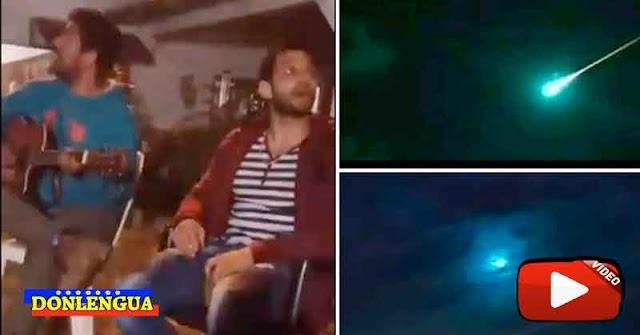 Meteorito estalló sobre el cielo de Anzoátegui