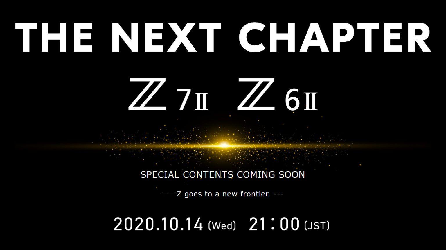 Баннер с датой презентации новых камер Nikon Z6 II и Z7 II