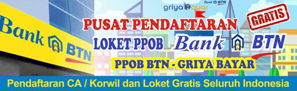 Cara Daftar Loket PPOB BTN Indramayu Jakarta Jember Jepara Jombang