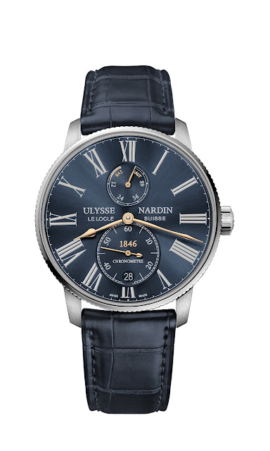 Ulysse Nardin and Farfetch present a new Marine Torpilleur