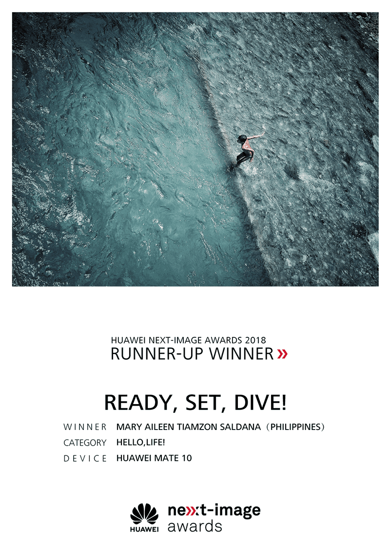 Ready, Set, Dive by Mary Aileen Tiamzon Saldana