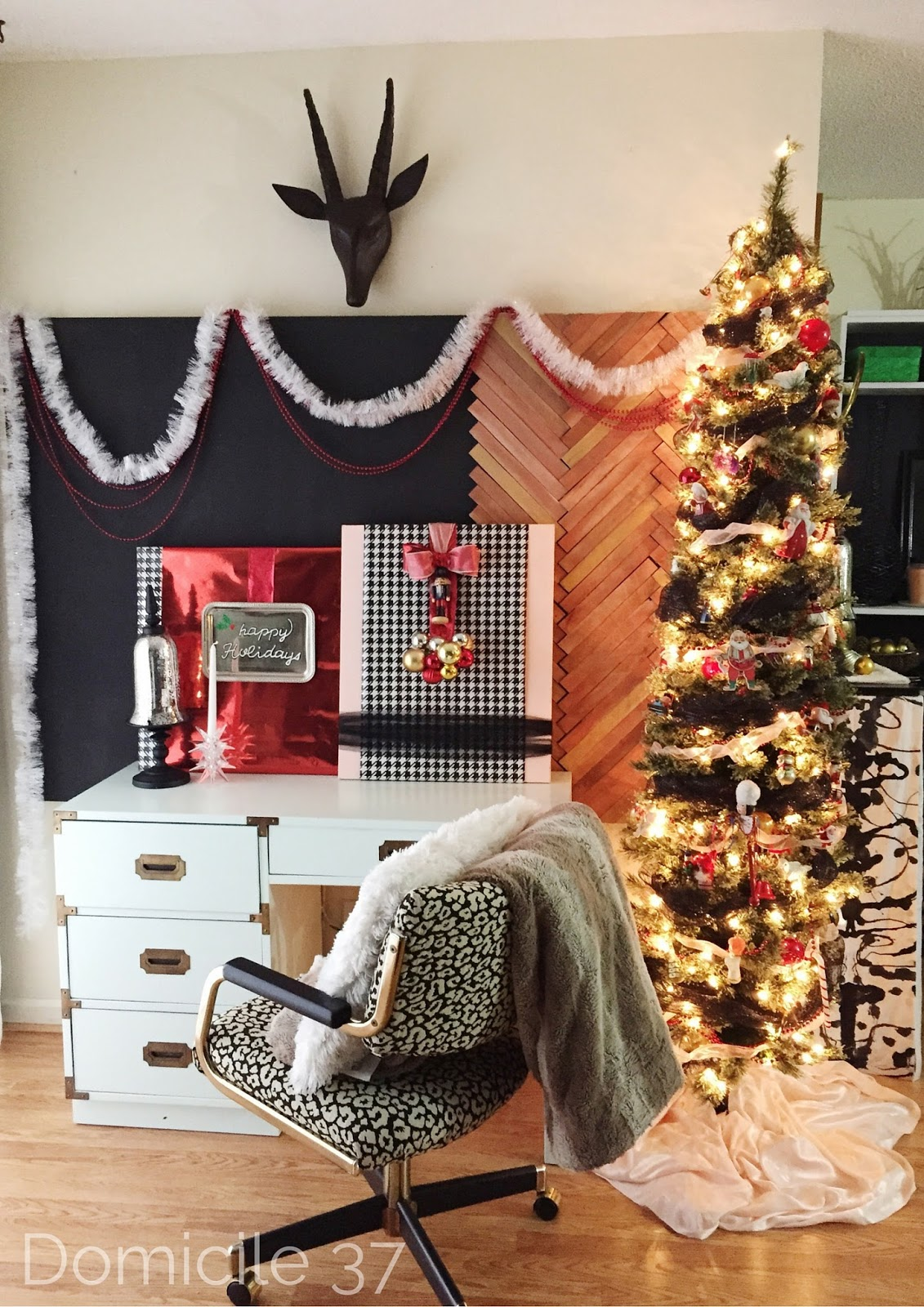 Diy Wrapping Paper Art Old House To New Home