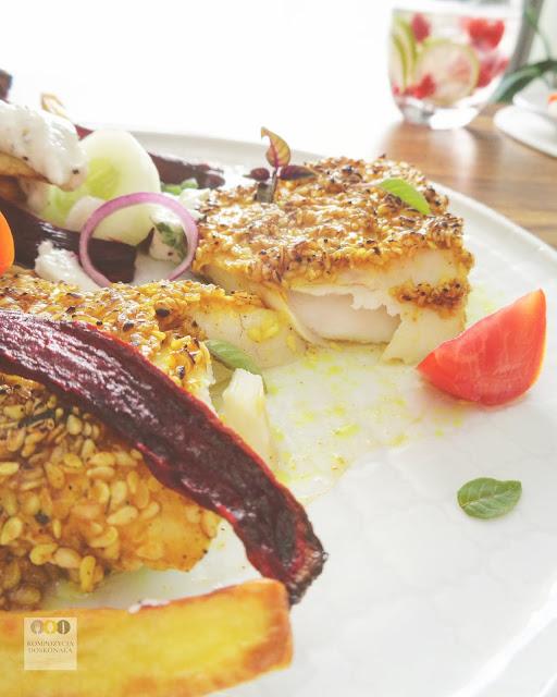 przepis na pieczoną rybkę po azjatycku