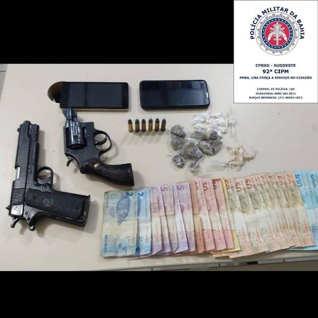 Peto Rural localiza e prende homicida de policial em Conquista