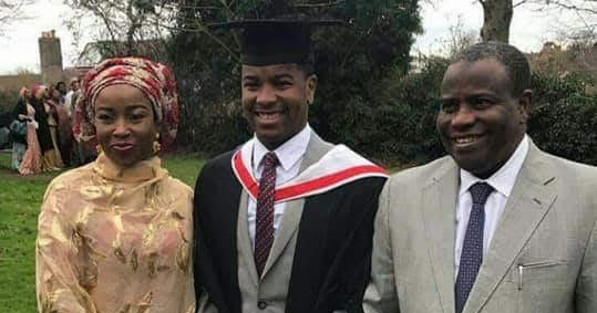Image result for Tambuwals son graduates