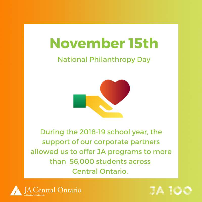 National Philanthropy Day Wishes Awesome Picture