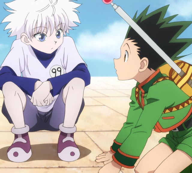 killua gon hunter x hunter