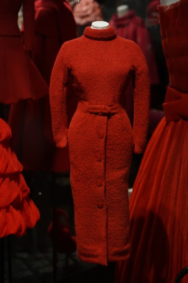 miniature de la robe Poivron - 1952 Christian Dior