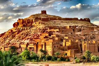 Ait Benhaddou i Marokko