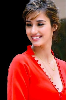 disha patani in orange dress