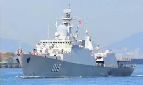 Tàu Trần Hưng Đạo của Việt Nam đến Nhật Bản đầu tháng 10