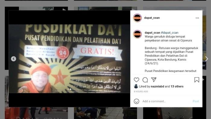 Geger! Pemimpin Pusdiklat Dai di Bandung Ini Mengaku Dirinya Rasul