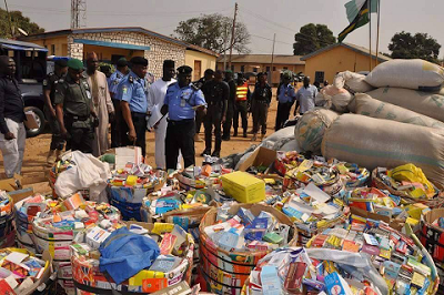 police intercepts cocaine kaduna