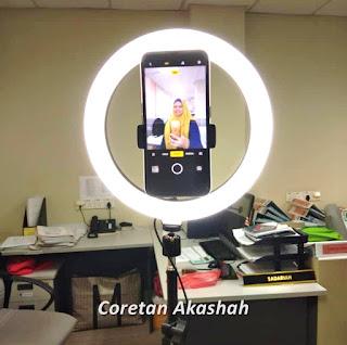 Tip lighting cantik masa online class