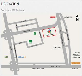 Mapa Arauco Premium Outlet Buenaventura
