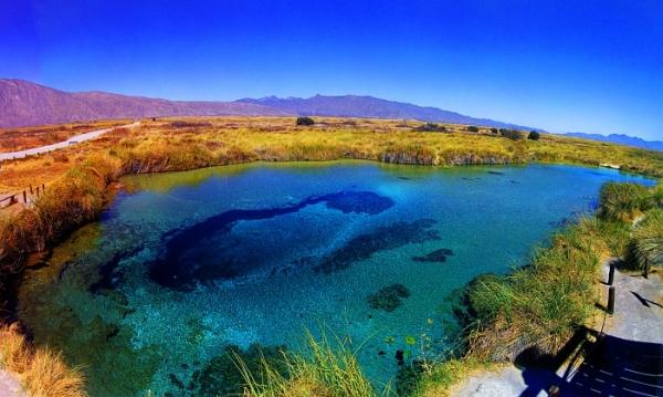 Manantil Poza Azul, Cuatro Ciénegas - Coahuila
