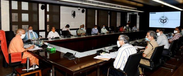 प्रदेश में प्रत्येक दशा में कोविड-19 के 01 लाख 50 हजार टेस्ट प्रतिदिन किए जाएं -मुख्यमंत्री योगी