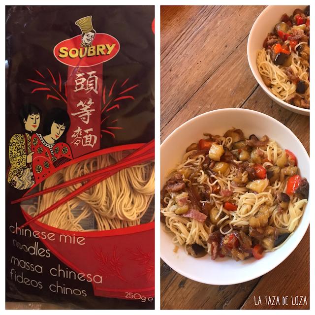 Fideos chinos de la marca Soubry