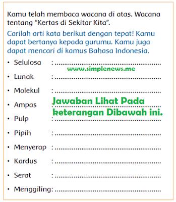 Arti Kata Selulosa Lunak Molekul Ampas Pulp Pipih Menyerap Kardus Serat Menggiling www.simplenews.me