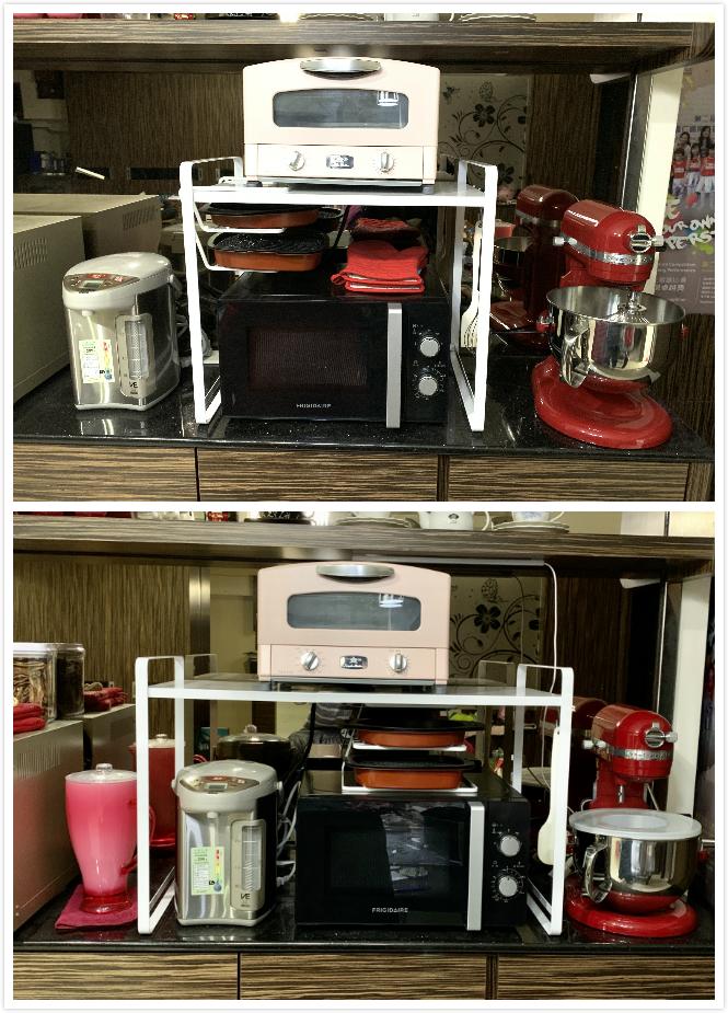 tower伸縮式微波爐架 山崎收納 YAMAZAKI 廚房收納 微波爐架 伸縮式