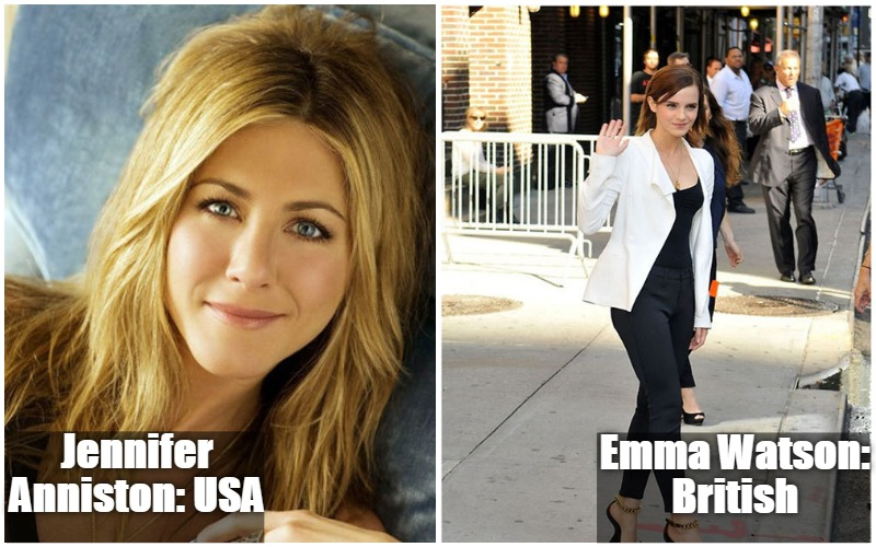 Jennifer Anniston Vs Emma Watson