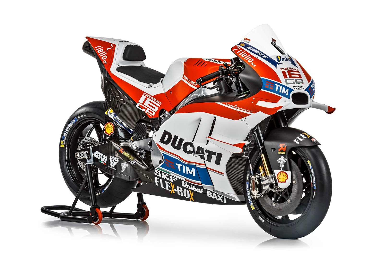 Racing Cafè: Ducati Desmosedici GP16 Ducati MotoGP Team 2016