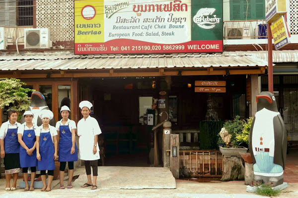 Cafe Chez Boune en Savannakhet