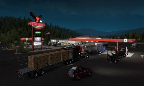 Download American Truck Simulator Oregon Highly Compressed