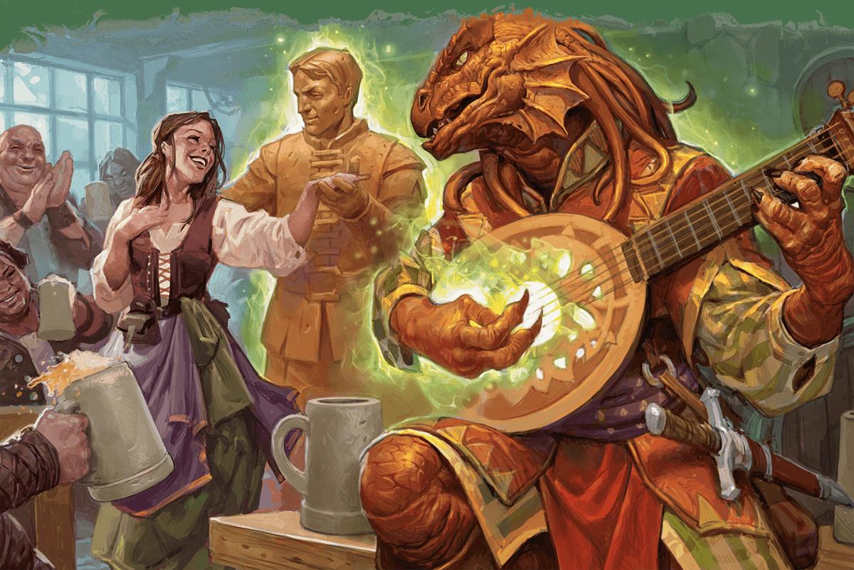 Reseña D&D - Tasha's Cauldron of Everything - Bardo