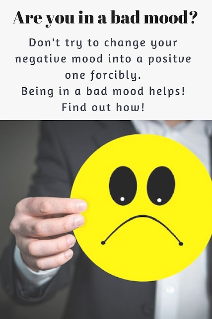 Bad mood makes you productive