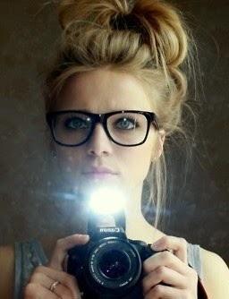 Messy Hair Bun Glasses Designer Glasses Cool Glasses