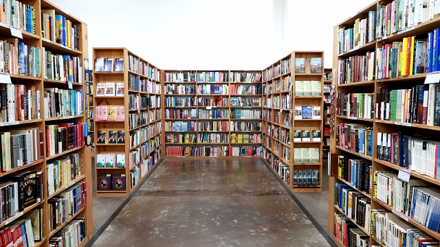 Image: bookstore located in Dallas, Texas