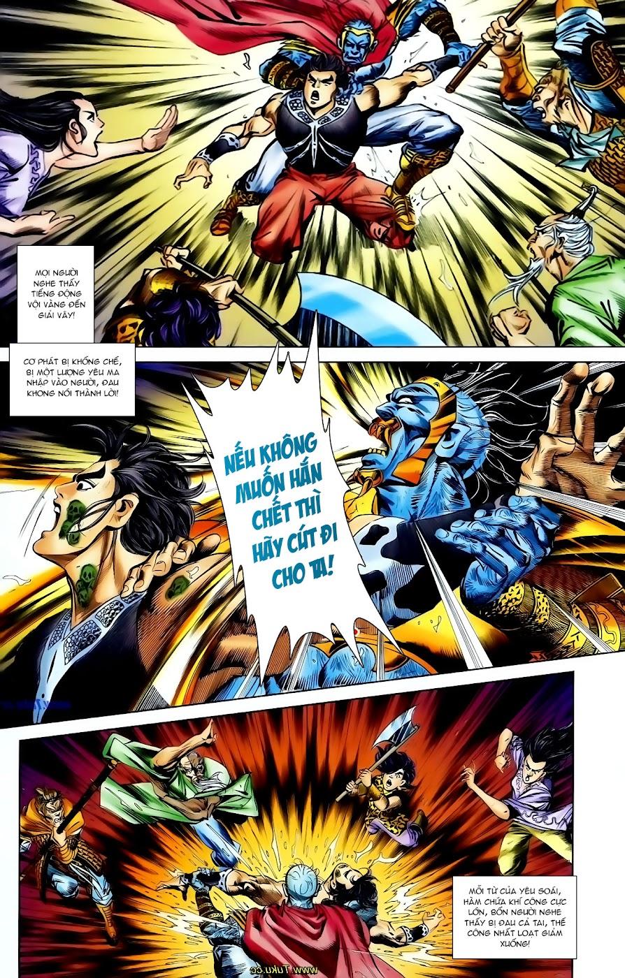 Cơ Phát Khai Chu Bản chapter 110 trang 12