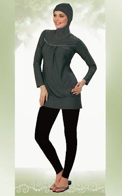Model Baju Muslim Untuk di Pantai Terbaru