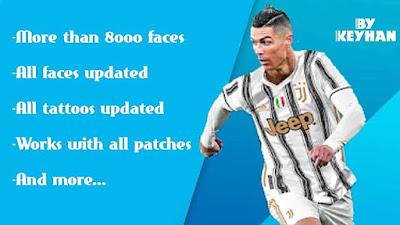 Mega Facepack (8000 faces) + Tattoo