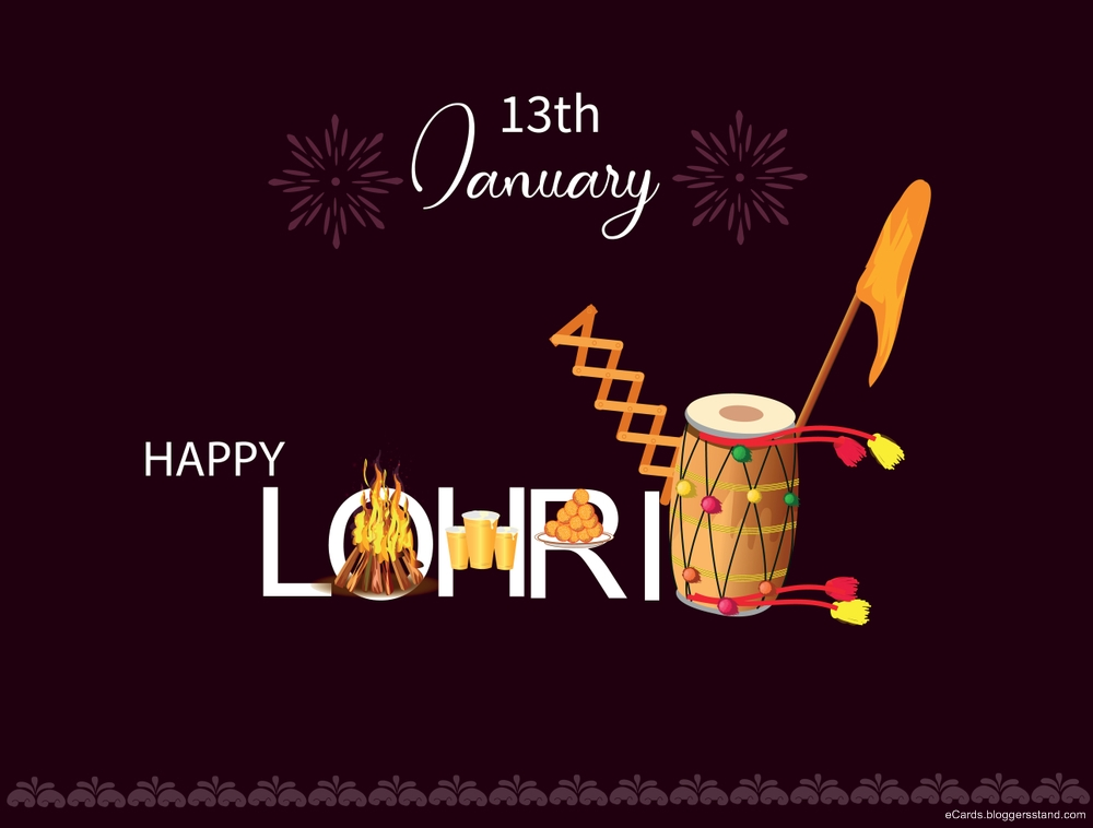 Happy lohri 2021 wallpapers HD download