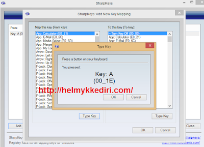 Cara mengganti fungsi tombol keyboard komputer1