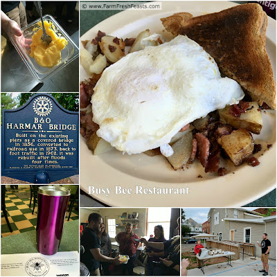 The Busy Bee Restaurant uses locally sourced products for breakfast & lunch.