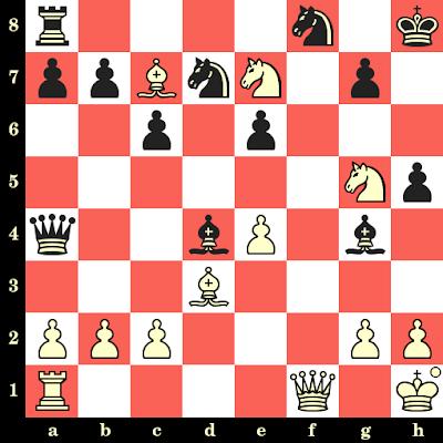 Les Blancs jouent et matent en 4 coups - Nick De Firmian vs Anthony Miles, Cambridge Springs, 1988