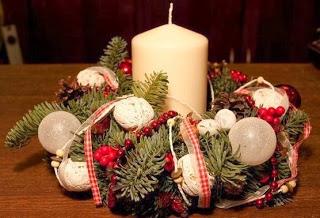 centro-mesa-navideño-velas